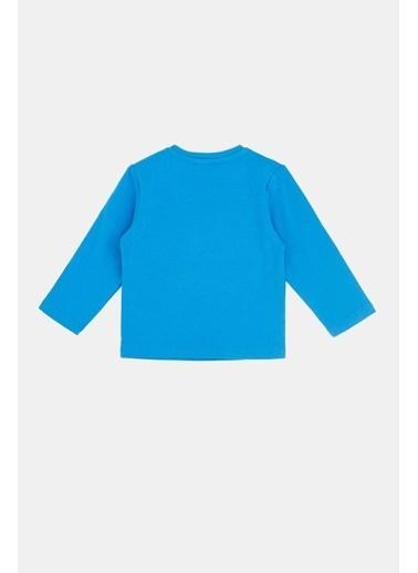 BG Baby Erkek Bebek Saks T-Shirt 20Fw0Bg1522 Saks
